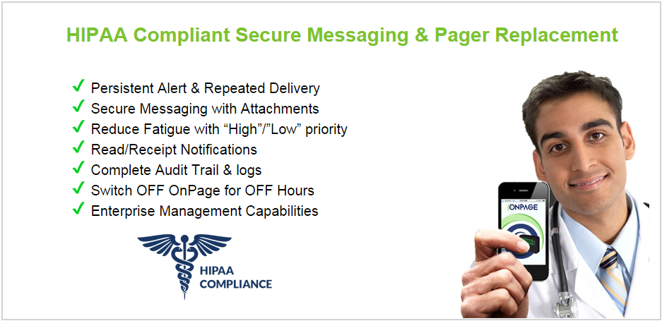 HIPAA Secure Messaging for Healthcare