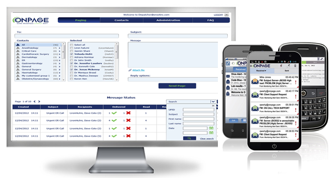 OnPage Alert Management Software