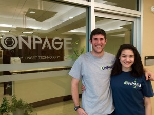 OnPage Interns - Sam & Kristen