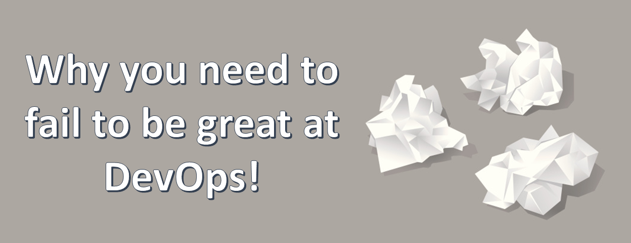 fail to be great at DevOps
